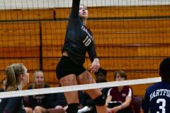 CIAC G. Volleyball; Farmington 3 vs. Hartford Public 0 - Photo # 339