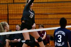 CIAC G. Volleyball; Farmington 3 vs. Hartford Public 0 - Photo # 340