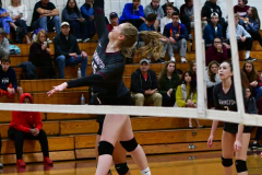 CIAC G. Volleyball; Farmington 3 vs. Hartford Public 0 - Photo # 343