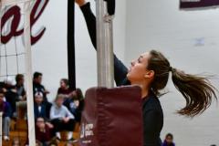 CIAC G. Volleyball; Farmington 3 vs. Hartford Public 0 - Photo # 346