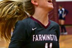 CIAC G. Volleyball; Farmington 3 vs. Hartford Public 0 - Photo # 359