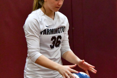 CIAC G. Volleyball; Farmington 3 vs. Hartford Public 0 - Photo # 361