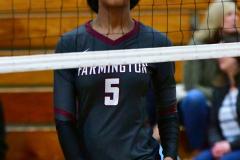 CIAC G. Volleyball; Farmington 3 vs. Hartford Public 0 - Photo # 374