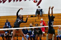 CIAC G. Volleyball; Farmington 3 vs. Hartford Public 0 - Photo # 377