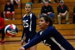 CIAC G. Volleyball; Farmington 3 vs. Hartford Public 0 - Photo # 381