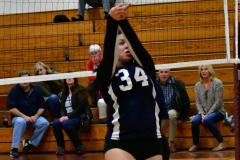 CIAC G. Volleyball; Farmington 3 vs. Hartford Public 0 - Photo # 384