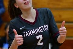 CIAC G. Volleyball; Farmington 3 vs. Hartford Public 0 - Photo # 392