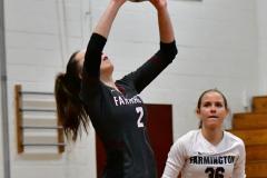 CIAC G. Volleyball; Farmington 3 vs. Hartford Public 0 - Photo # 416
