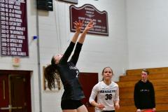 CIAC G. Volleyball; Farmington 3 vs. Hartford Public 0 - Photo # 417