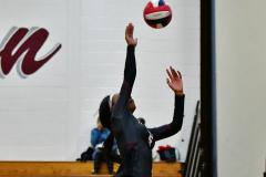 CIAC G. Volleyball; Farmington 3 vs. Hartford Public 0 - Photo # 419