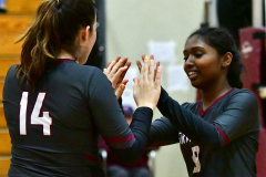 CIAC G. Volleyball; Farmington 3 vs. Hartford Public 0 - Photo # 431