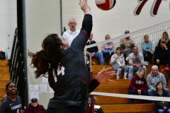 CIAC G. Volleyball; Farmington 3 vs. Hartford Public 0 - Photo # 441