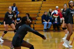 CIAC G. Volleyball; Farmington 3 vs. Hartford Public 0 - Photo # 447