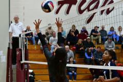 CIAC G. Volleyball; Farmington 3 vs. Hartford Public 0 - Photo # 449