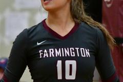 CIAC G. Volleyball; Farmington 3 vs. Hartford Public 0 - Photo # 459