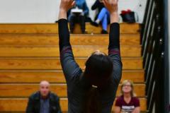 CIAC G. Volleyball; Farmington 3 vs. Hartford Public 0 - Photo # 463