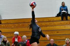 CIAC G. Volleyball; Farmington 3 vs. Hartford Public 0 - Photo # 468