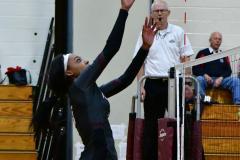 CIAC G. Volleyball; Farmington 3 vs. Hartford Public 0 - Photo # 473