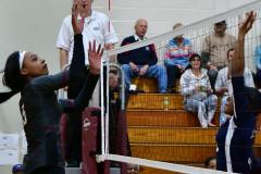 CIAC G. Volleyball; Farmington 3 vs. Hartford Public 0 - Photo # 474