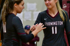CIAC G. Volleyball; Farmington 3 vs. Hartford Public 0 - Photo # 493