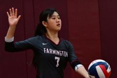 CIAC G. Volleyball; Farmington 3 vs. Hartford Public 0 - Photo # 496