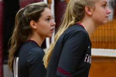 CIAC G. Volleyball; Farmington 3 vs. Hartford Public 0 - Photo # 498