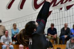 CIAC G. Volleyball; Farmington 3 vs. Hartford Public 0 - Photo # 501