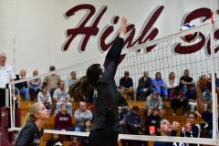 CIAC G. Volleyball; Farmington 3 vs. Hartford Public 0 - Photo # 502