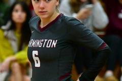 CIAC G. Volleyball; Farmington 3 vs. Hartford Public 0 - Photo # 517