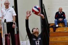 CIAC G. Volleyball; Farmington 3 vs. Hartford Public 0 - Photo # 523