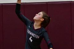 CIAC G. Volleyball; Farmington 3 vs. Hartford Public 0 - Photo # 536