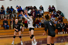 CIAC G. Volleyball; Farmington 3 vs. Hartford Public 0 - Photo # 546
