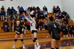 CIAC G. Volleyball; Farmington 3 vs. Hartford Public 0 - Photo # 546
