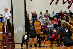 CIAC G. Volleyball; Farmington 3 vs. Hartford Public 0 - Photo # 548