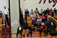CIAC G. Volleyball; Farmington 3 vs. Hartford Public 0 - Photo # 548