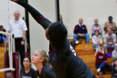CIAC G. Volleyball; Farmington 3 vs. Hartford Public 0 - Photo # 550