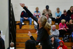 CIAC G. Volleyball; Farmington 3 vs. Hartford Public 0 - Photo # 555