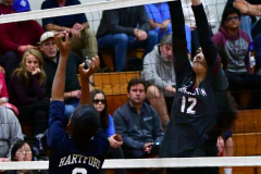 CIAC G. Volleyball; Farmington 3 vs. Hartford Public 0 - Photo # 562