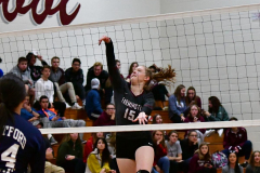 CIAC G. Volleyball; Farmington 3 vs. Hartford Public 0 - Photo # 567