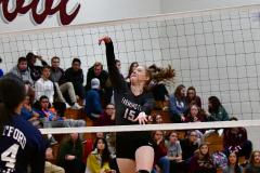 CIAC G. Volleyball; Farmington 3 vs. Hartford Public 0 - Photo # 567
