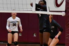 CIAC G. Volleyball; Farmington 3 vs. Hartford Public 0 - Photo # 582