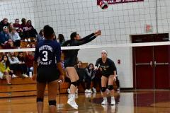 CIAC G. Volleyball; Farmington 3 vs. Hartford Public 0 - Photo # 584