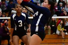 CIAC G. Volleyball; Farmington 3 vs. Hartford Public 0 - Photo # 589