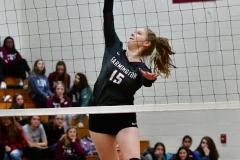 CIAC G. Volleyball; Farmington 3 vs. Hartford Public 0 - Photo # 591