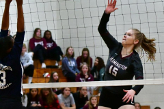 CIAC G. Volleyball; Farmington 3 vs. Hartford Public 0 - Photo # 592