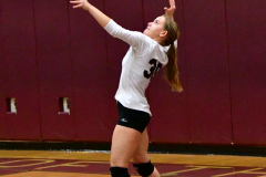 CIAC G. Volleyball; Farmington 3 vs. Hartford Public 0 - Photo # 597