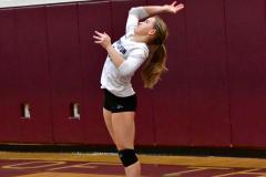 CIAC G. Volleyball; Farmington 3 vs. Hartford Public 0 - Photo # 598