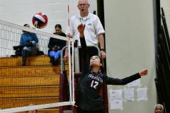 CIAC G. Volleyball; Farmington 3 vs. Hartford Public 0 - Photo # 612