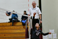 CIAC G. Volleyball; Farmington 3 vs. Hartford Public 0 - Photo # 613