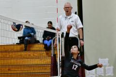 CIAC G. Volleyball; Farmington 3 vs. Hartford Public 0 - Photo # 613
